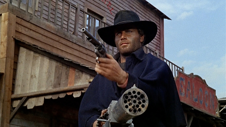 DJANGO LIVES!: Franco Nero Saddles Up Against White Supremacy