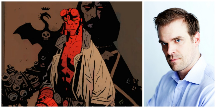 A New HELLBOY Movie? With STRANGER THINGS' David Harbour, Directed by Neil Marshall?