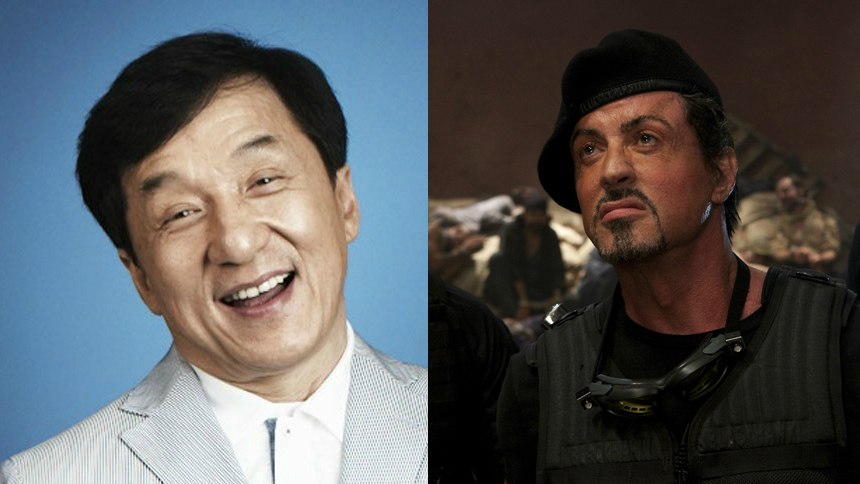Chan! Stallone! EX-BAGHDAD!