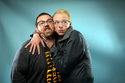 SLAUGHTERHOUSE RULEZ: Simon Pegg And Nick Frost Return to The Comedy-Horror Genre as Producers