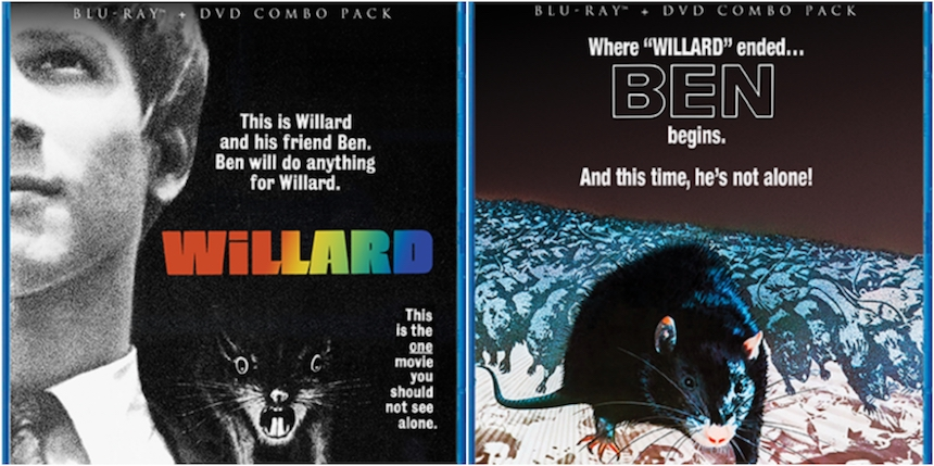 Blu-ray Review: WILLARD and BEN Scurry out of Scream Factory's Cellar