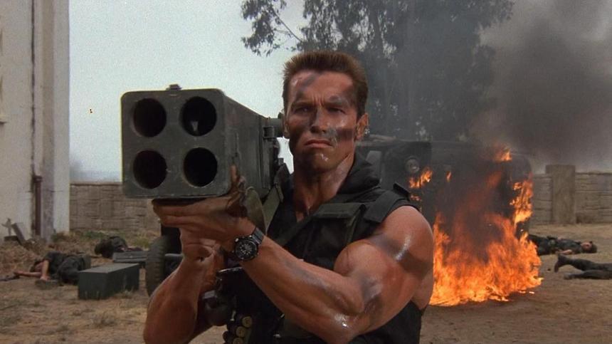 Review: Commando, the perfect embodiment of 80's Schwarzenegger