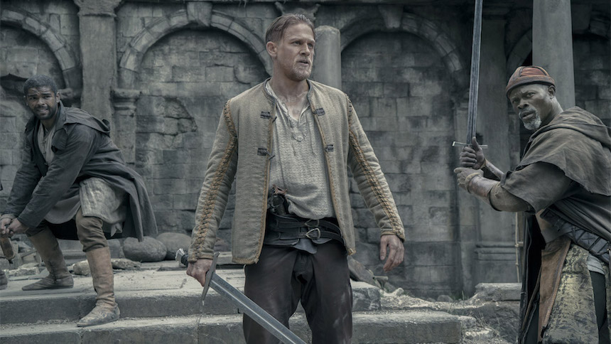 Review: Guy Ritchie's KING ARTHUR: LEGEND OF THE SWORD, Very, Very Familiar