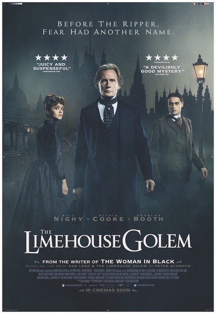 THE LIMEHOUSE GOLEM Trailer Takes Us to Theatre of Blood