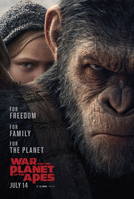 WAR FOR THE PLANET OF THE APES: Big Scale Action in Third And Final Trailer