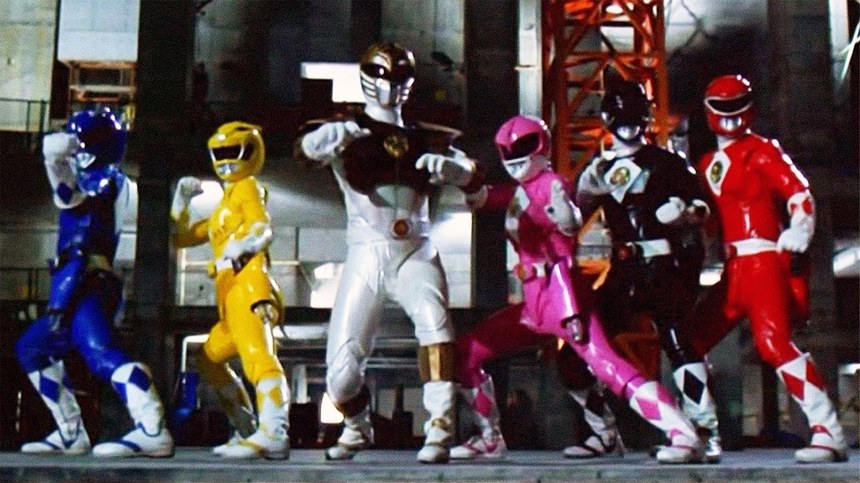 "Review: POWER RANGERS - THE MOVIE (1995), the embodiment of 90s ""radness"""