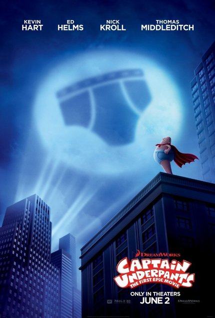 Review: CAPTAIN UNDERPANTS: THE FIRST EPIC MOVIE Doesn't Stink