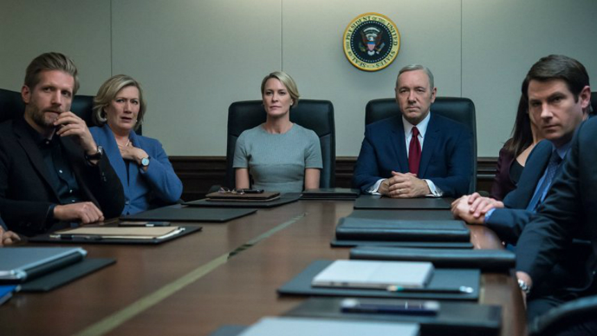 Notes on Streaming: HOUSE OF CARDS Falls Flat