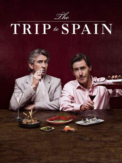 THE TRIP TO SPAIN: Coogan And Brydon Nosh On The Official Trailer