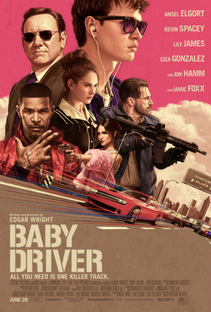 Review: BABY DRIVER, Top-Notch Action Mixed With Sheer Fun