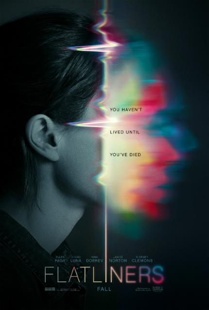 Watch Ellen Page in New FLATLINERS Trailer: Does It ... Flatline?
