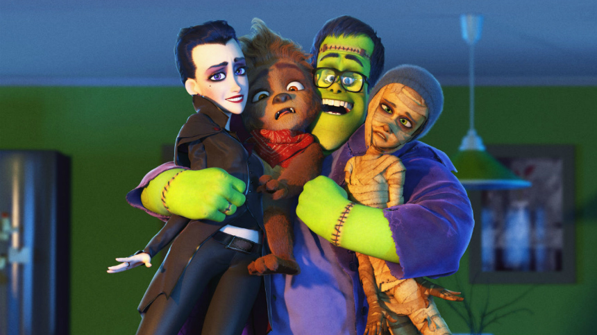 Animated HAPPY FAMILY Trailer: Friendly Monster Transformation