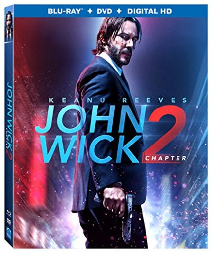 Now on Blu-ray: JOHN WICK: CHAPTER 2 Comes Home On Stacked Blu-ray
