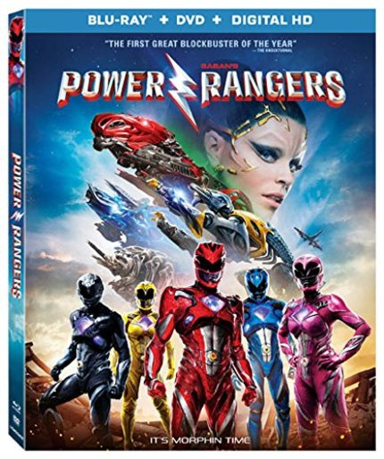 Now on Blu-ray: POWER RANGERS Makes For A Mediocre Film, But A Great Disc