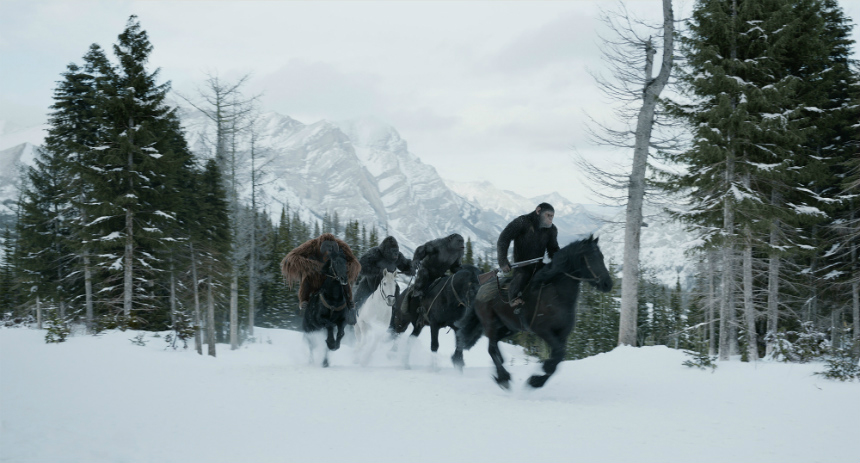 Review: WAR FOR THE PLANET OF THE APES Threatens Extinction, While Holding Out a Sliver of Hope