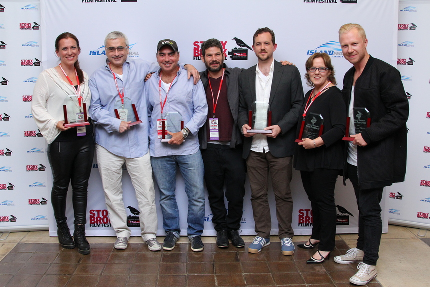 Award Winners at the Stony Brook Film Festival, July 29, 2017