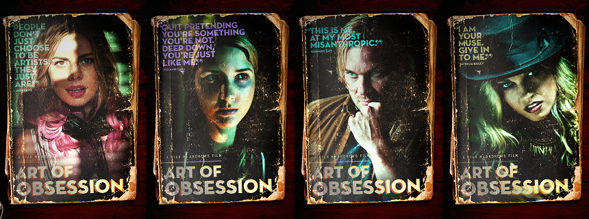 ART OF OBSESSION: Trailer Debut For a New Psychological Thriller From SAVE YOURSELF's Ryan M. Andrews