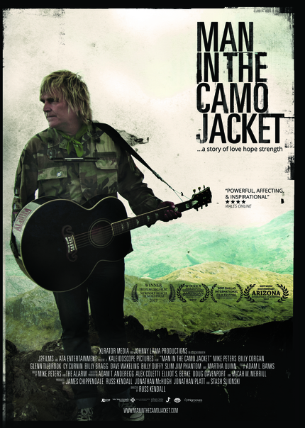 Exclusive Clip: THE MAN IN THE CAMO JACKET, Mike Peters of The Alarm in an Uplifting Doc