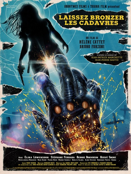 Stunning Poster For LET THE CORPSES TAN (LAISSEZ BRONZER LES CADAVRES)