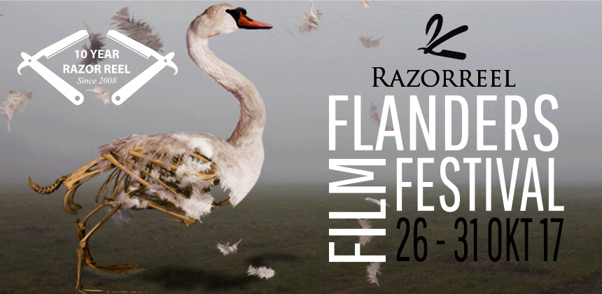 Razor Reel Flanders Film Festival Unveils Poster of Tenth Edition