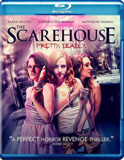 THE SCAREHOUSE: Gavin Michael Booth's Haunted House Flick, Now on Blu-ray