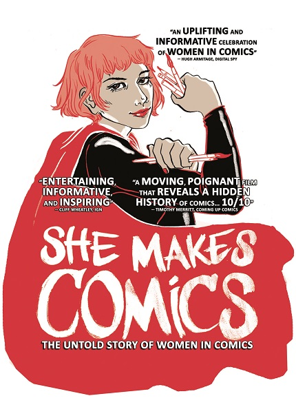 Exclusive Clip: SHE MAKES COMICS Looks at Women Leaders in Comic Book Industry