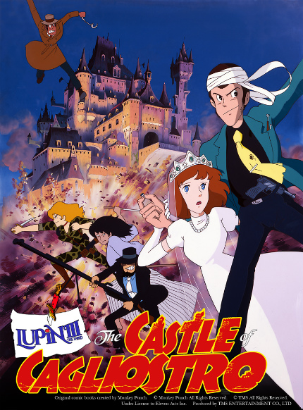 Miyazaki's LUPIN THE 3RD THE CASTLE OF CAGLIOSTRO Heads to U.S. Theaters
