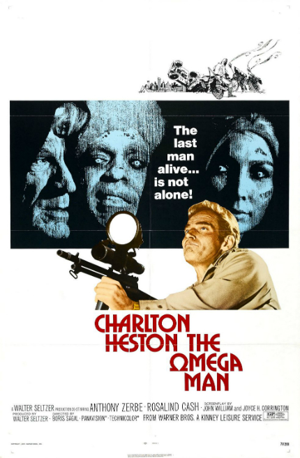 70s Rewind: In THE OMEGA MAN, Charlton Heston Tries to Save the Planet