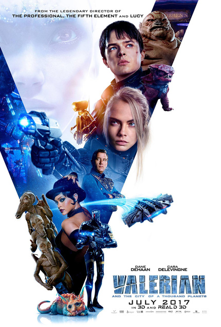 Review: VALERIAN AND THE CITY OF A THOUSAND PLANETS, Lush Visuals And Lackluster Everything Else