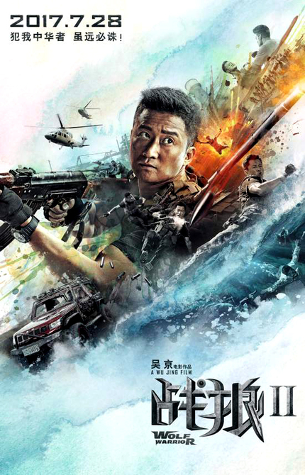 WOLF WARRIOR 2: New Trailer Features All The 'Klak Klak, Bang, Boom, Kablooie' You Can Handle!