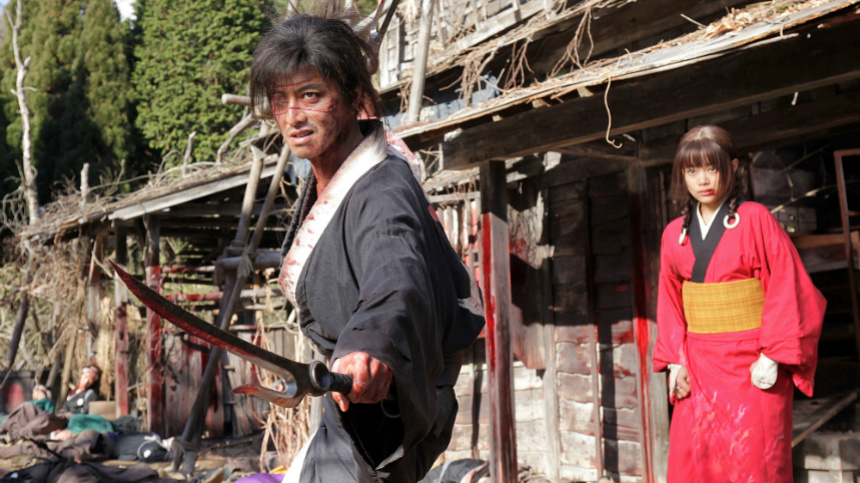 Miike's BLADE OF THE IMMORTAL Red Band Trailer: Sorry, I Got Blood On It
