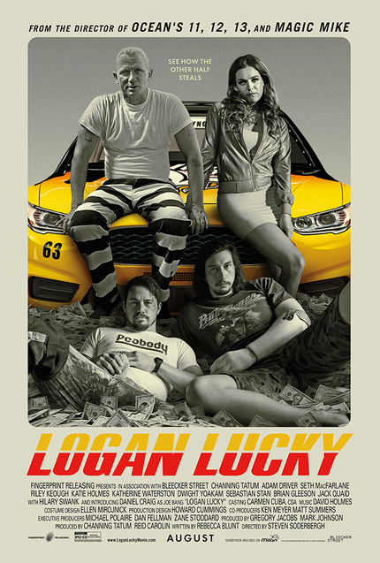 Review: LOGAN LUCKY Races for the Big Score, Finishing Above Average