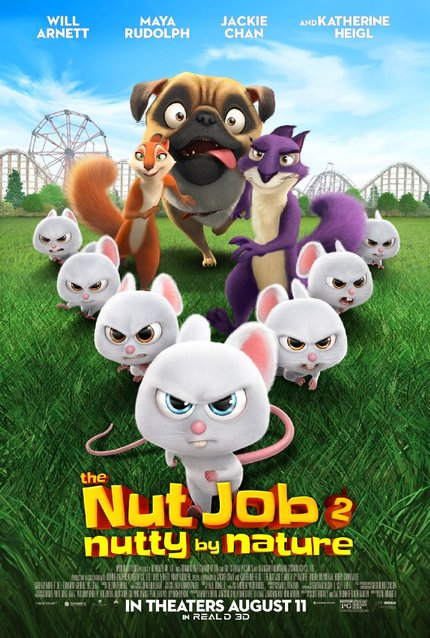 Review: THE NUT JOB 2: NUTTY BY NATURE, A Nutty Surprise