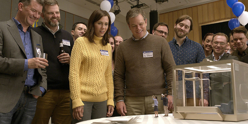 DOWNSIZING Teaser: Matt Damon in Alexander Payne's Latest Suggests Size Isn't Everything