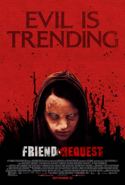 FRIEND REQUEST Trailer: When You Need Even More Horror in Your Timeline