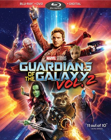 Now on Blu-ray: GUARDIANS OF THE GALAXY VOL. 2's Daddy Issues Light Up Your TV Screen