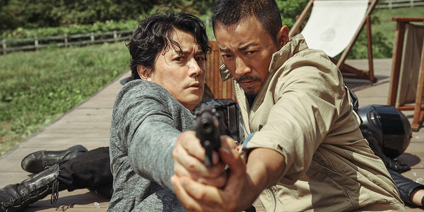 Slow Motion, Dove Flying, Bang Bang! It's The First Teaser For John Woo's MANHUNT!