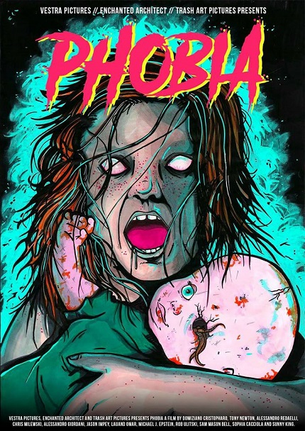 PHOBIA: Trailer For The Anglo Italo Horror Anthology About All Your Fears