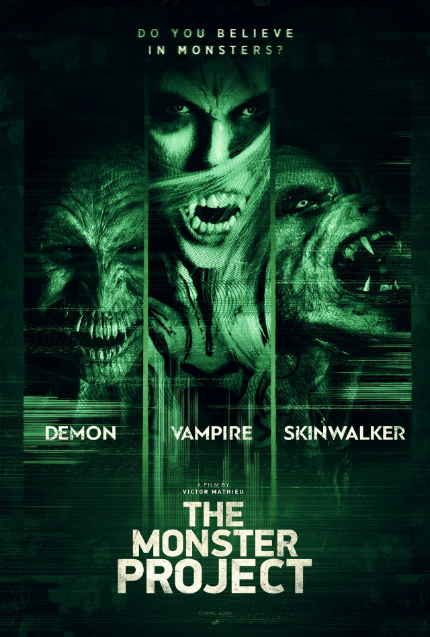 Exclusive Clip: THE MONSTER PROJECT, Greetings From An Unexpected Visitor