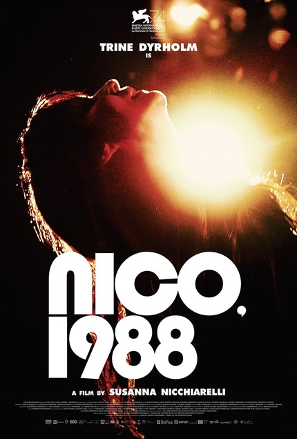 Venice 2017: NICO, 1988 Trailer and Poster, The Priestess of Darkness in Her Full Glory