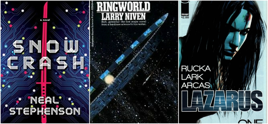 Amazon Developing Three New Genre Series: SNOW CRASH, RINGWORLD And LAZARUS