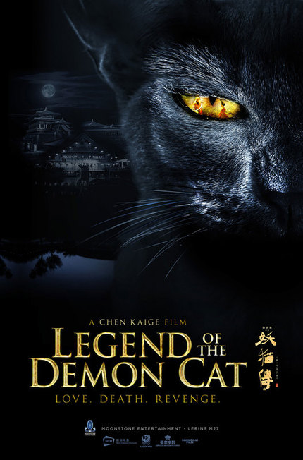 THE LEGEND OF THE DEMON CAT: Watch The Teaser For Chen Kaige's Period Fantasy