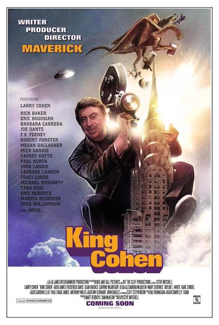 Fantastic Fest 2017 Interview: Larry Cohen Talks Movies, KING COHEN, Guerilla Filmmaking, and the FBI
