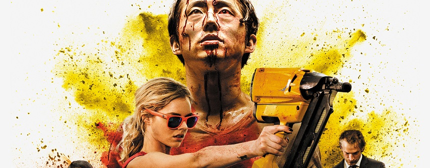 MAYHEM: Key Art Revealed For Joe Lynch's Workplace Horror Flick