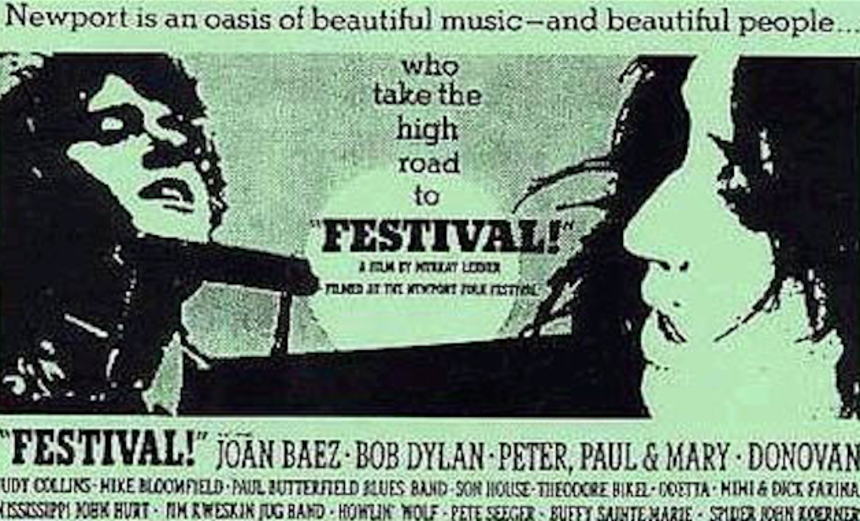 Blu-ray Review: Criterion Unearths FESTIVAL, or, 1967: The Year Folk Broke