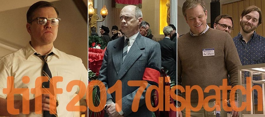 Toronto 2017 Dispatch: Dark Comedies from Clooney/Coens, Payne, and Iannucci Scoring Well