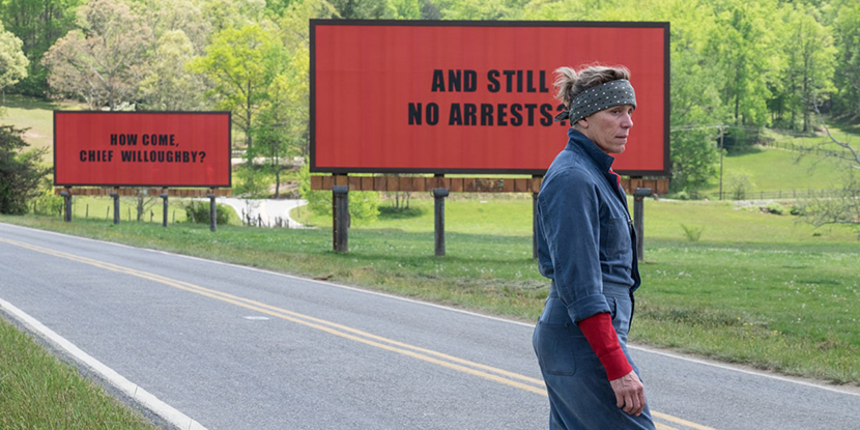 Venice 2017 Review: Martin McDonagh Triumphs Again With THREE BILLBOARDS OUTSIDE EBBING, MISSOURI