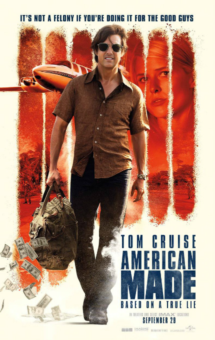 Review: AMERICAN MADE, Crime Doesn't Pay This Much, Usually