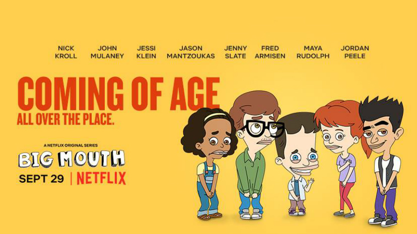 Don't Tell Your Parents! BIG MOUTH Trailer Animates Puberty
