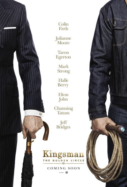 Review: KINGSMAN: THE GOLDEN CIRCLE, A Cartoon Spy Action Film With Little Bite